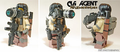 CIA AGENT Camera (Shobrick) Tags: camera afghanistan beard war lego drum cia tissue flash tan ak strap agent tt vest sight scopes machete custom bang grenade mgl mag weapons 47 holster launcher holographic brickarms shobrick tinyatactical