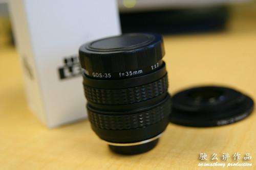 Sony Nex-3 and Nex-5 35mm F/1.7 Prime Lens