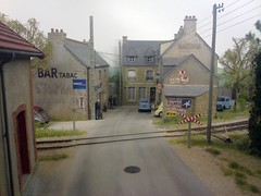 Pempoul, Reseau Breton Metre Gauge, Modelled to 1/50 scale (Man of Yorkshire) Tags: france train model brittany village diesel gare citroen railway 150 railcar tabac mallet gauge narrow breton francais metre reseau ogauge metregauge pempoul