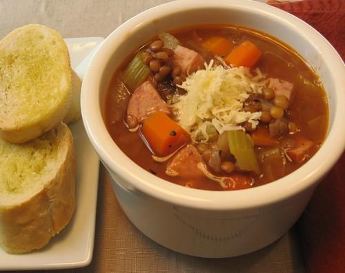 Lentil Sausage Soup 024