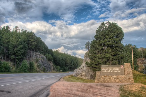 Entrance to Mount Rushmore