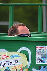 The other half! (joy7d) Tags: green sunglasses glastonbury toilet glasto glastonbury2009