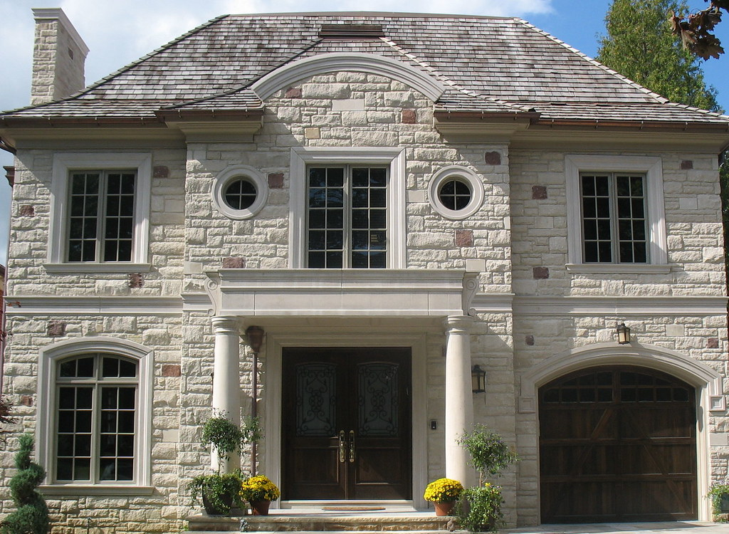 The world 39 s best photos of indianalimestone and for Limestone homes designs