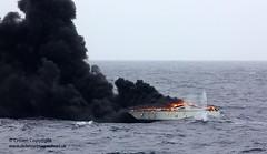 Destroyed Drugs Vessel - by Defence Images