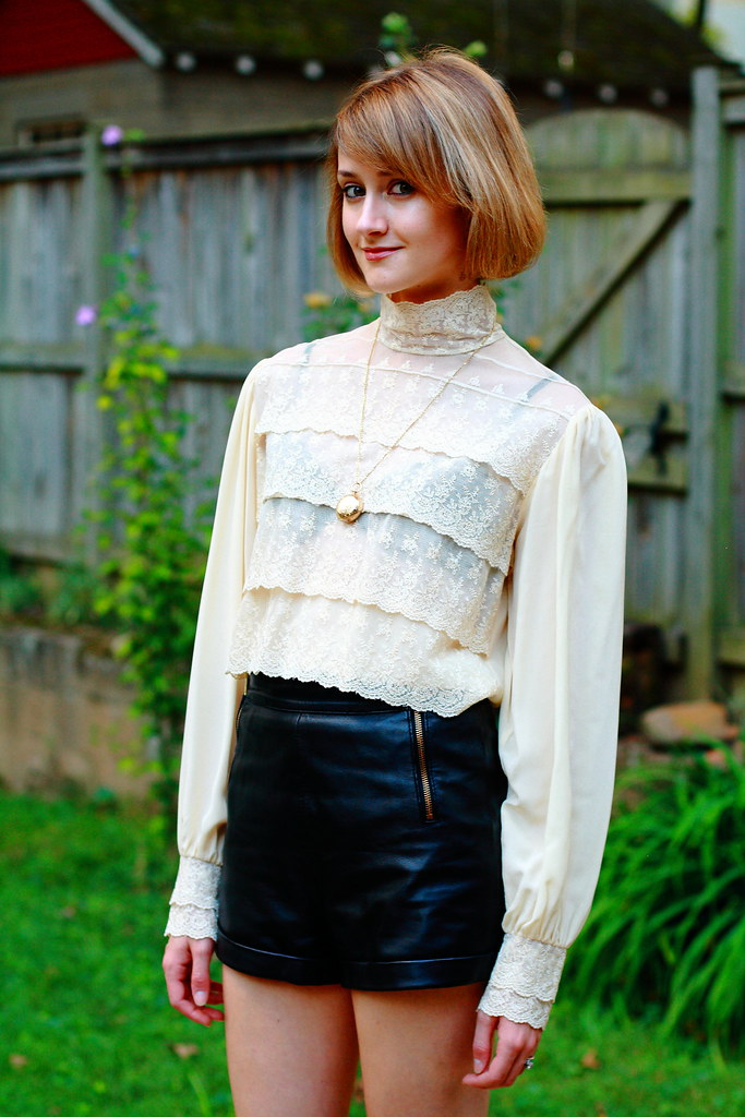 """heirloom"" blouse"