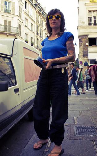 Clarisse au Marais Tattoo.