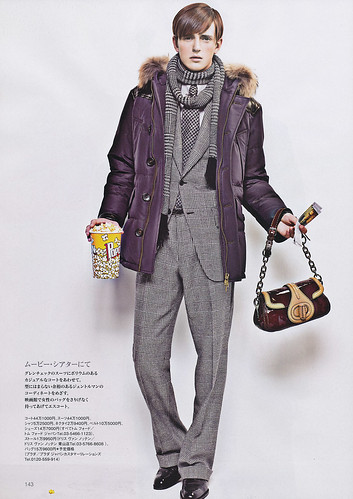 Alex Dunstan for ENGINE Oct. 2010 by Junji Hata
