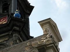 amsterdam, westerkerk (andrevanb) Tags: church exterior toren kerk westerkerk exterieur rm4298 prinsengracht277 noordgevel