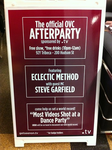 The Official OVC After Party featuring Eclectic Method with guest MC Steve Garfield