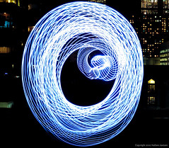 Wormhole (Witty nickname) Tags: light lightpainting abstract night circle spiral lights warp led wormhole streams nikkor lightstreams warpspeed nikond90