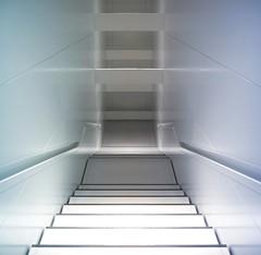 Down. (Radiohead.) Tags: museum munich mnchen stairway treppe bmw