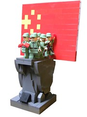 People's Republic of China: 1949-2010 (Hessianizer) Tags: china party monument statue republic lego symbol flag chinese ak peoples communist communism mao tse ak47 tung zedong tsetung brickarms