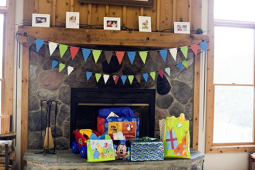 Bennett's first birthday