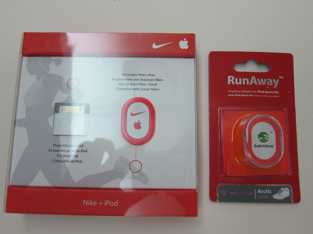 Nike + iPod Sport Kit with SwitchEasy Runaway