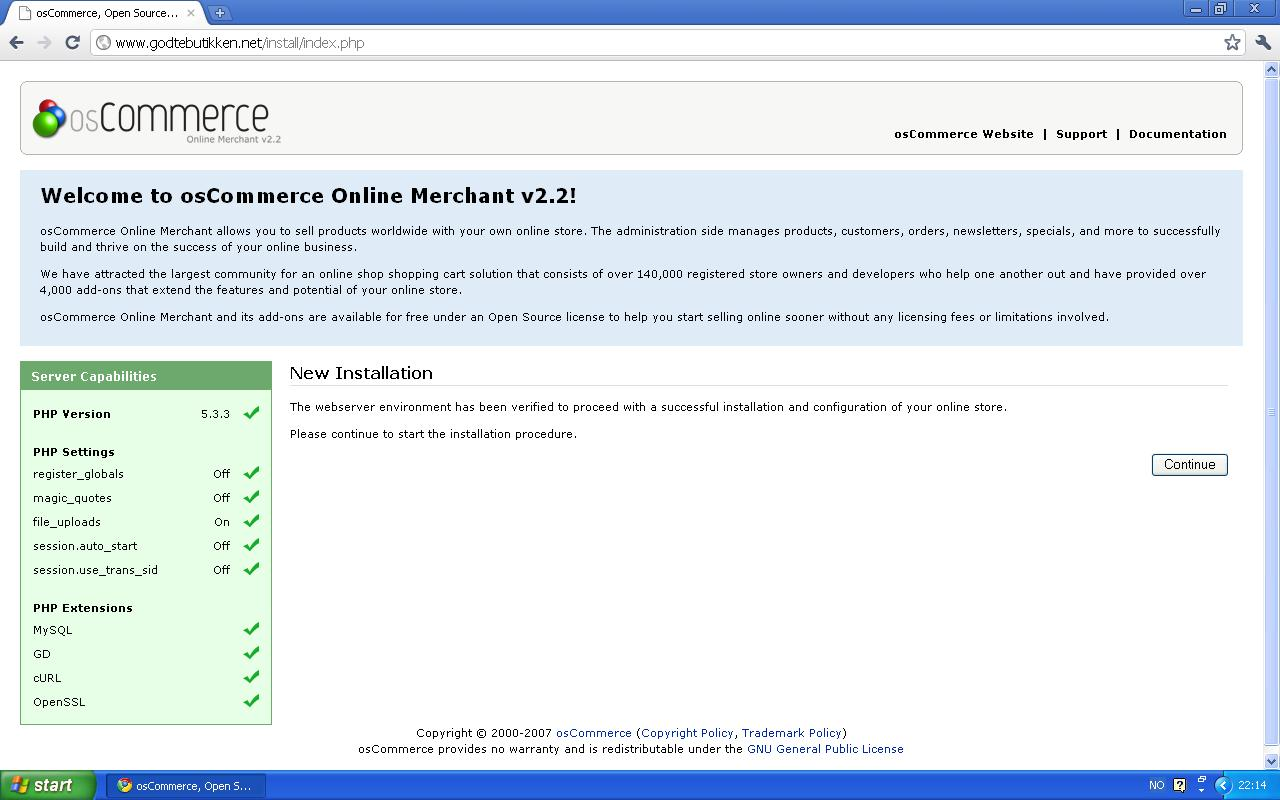 webshop godtebutikken net