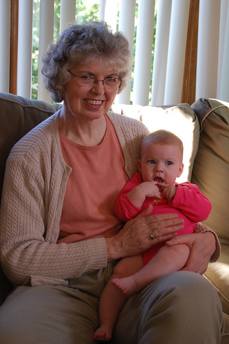 Annaliese and Great Aunt Alice