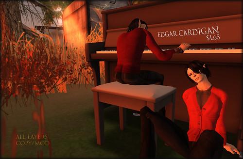 Edgar cardigan