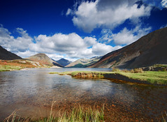 Wastwater to Wasdale Head (Jeffpmcdonald) Tags: uk lake lakedistrict cumbria wastwater jeffpmcdonald sep2010