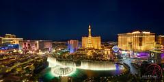 Las Vegas Bellagio Fountains Panorama