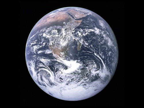 the world from space. Happy World Space Week!