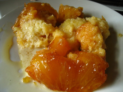 caramelized pineapple pudding cake