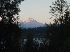 Mt Hood - From the ride sign-up area