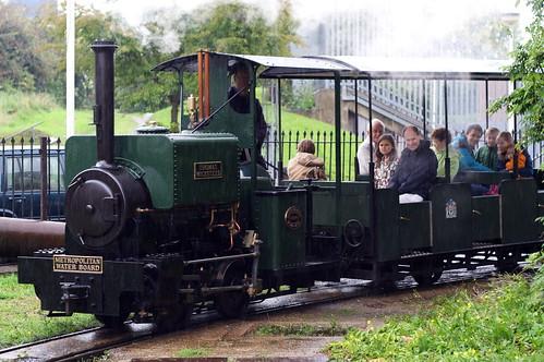 Thomas and passengers