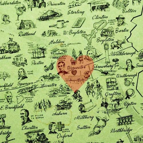 I heart Worcester