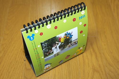 スパイラルフォトカレンダー