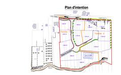 Plan de la Zone Artisanale Intercommunale de MAISONSGOUTTE