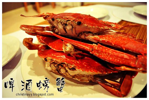 Home-Cook Seafood Dinner at Hervy Bay: Beer Braised Crab