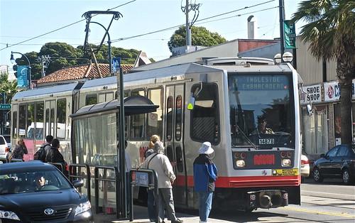 K-line Muni Train, San Francisco