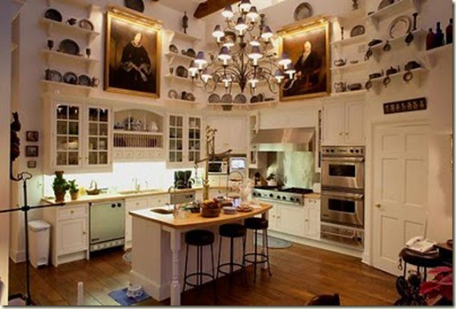 artsy fartsy kitchen via designtrackmind