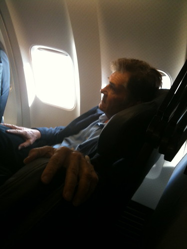 Fellow passenger, Fred Willard