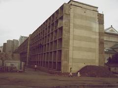Apartments in Pyongyang, North Korea. (Daniel Kliza) Tags: kim north korea il kimjongil dmz northkorea jong comunism pyongyang sung dprk kimilsung demilitarizedzone phenian kimirsen penmunjon