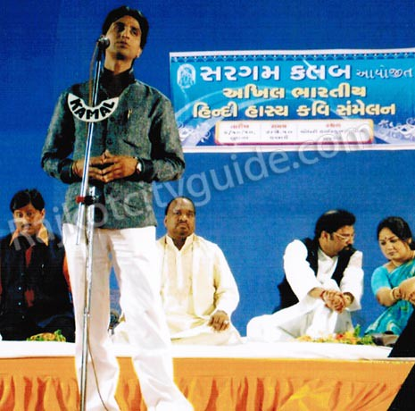 Hindi Hasya Kavi Samelan Organized by Sargam Club