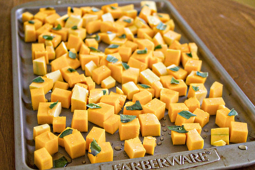 Farfalle with Butternut Squash and Roasted Pumpkin Sauce - 2