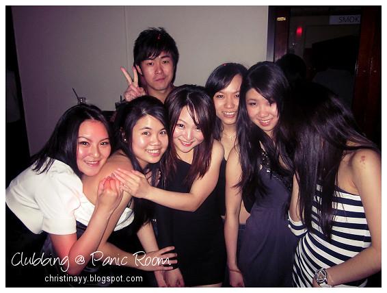 Clubbing on Saturday Night