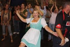 Chicken Dance (jayinvienna) Tags: dulles oktoberfest polka dirndl chickendance trachten germanbeernight germanarmedforcescommand germanbeernight2010