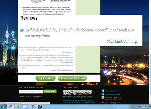 Click Click Culinary on GroupsMore Reviews