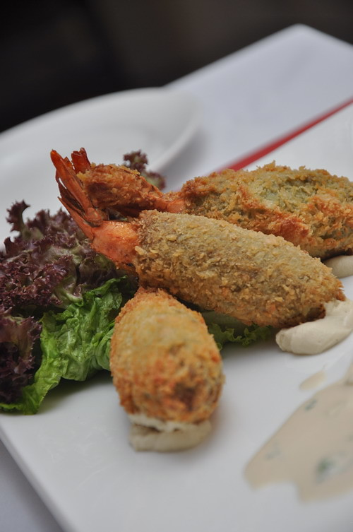 Shrimp Falafel