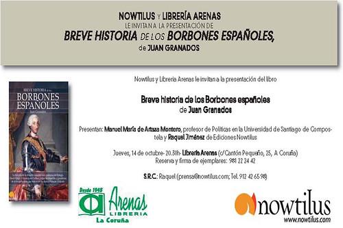 Invitacion_presentacion_Breve_historia_de_los_Borbones_españoles