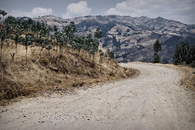 Camino  a Azubamba