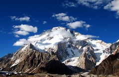 Broad Peak (8051 Meters) (Tanwir Jogi) Tags: travel blue pakistan sky snow mountains beautiful clouds trekking trek climb great explore backpack cannon concordia k2 traveling tours frontpage lahore mountaineer treks basecamp mitrepeak backpackers fareed jogi broadpeak g9 trekkinginpakistan concordian treker k2basecamp tanwir travelinginpakistan mountaingods 8000meters thetrekkerz tourisminpakistan