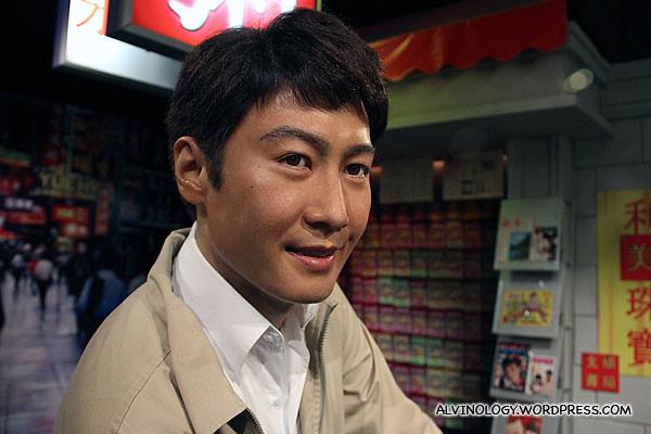 Close-up of Leon Lai