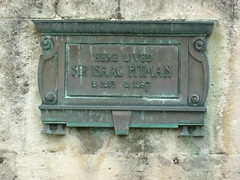 Photo of Isaac Pitman bronze plaque