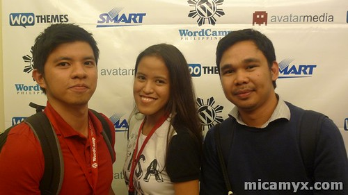 With Edcel and Jerome (straight from Cebu! :D )
