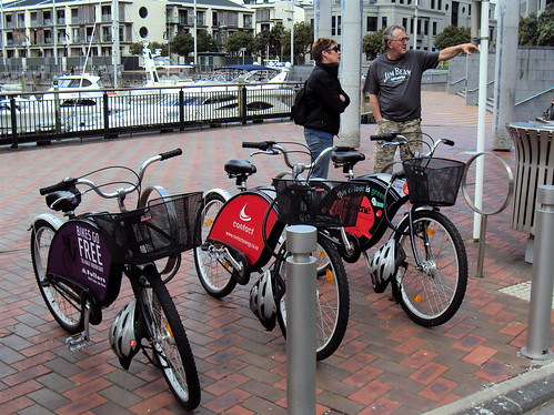 Next Bike Station - Viaduct Harbour