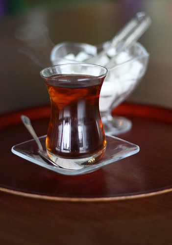 Turkish Tea by Olga Irez of Delicious Istanbul