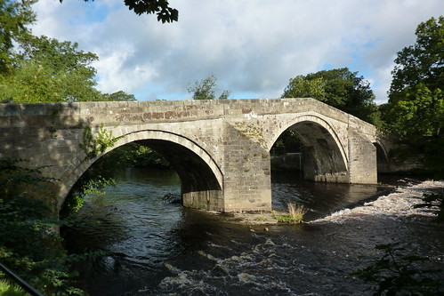 The Old Bridge at Ilkley